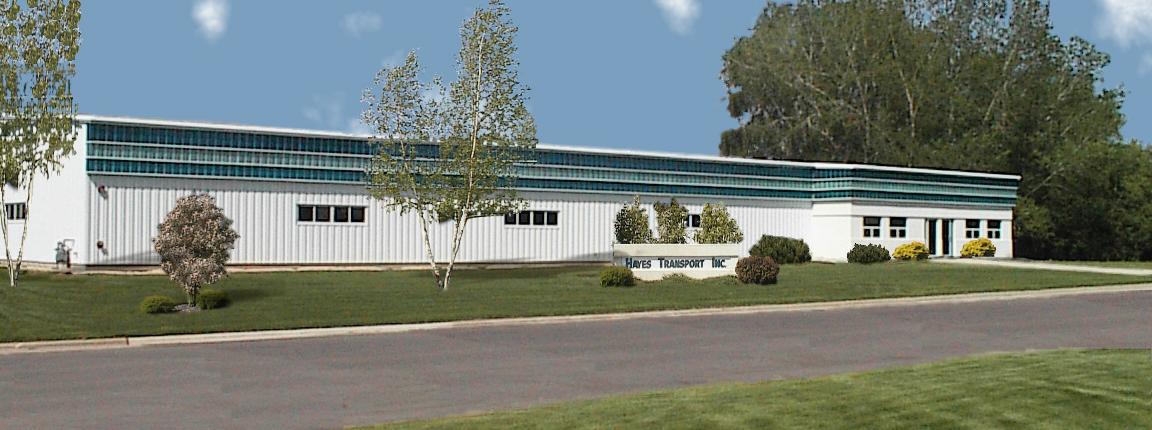 Hayes Transport - trucking company headquarters in Verona, Wisconsin